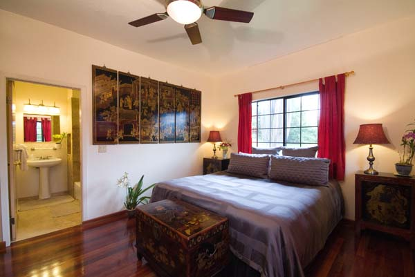 Harmony House guest room