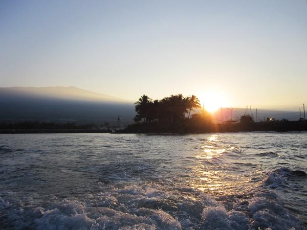 Honokohau Harbor sunrise