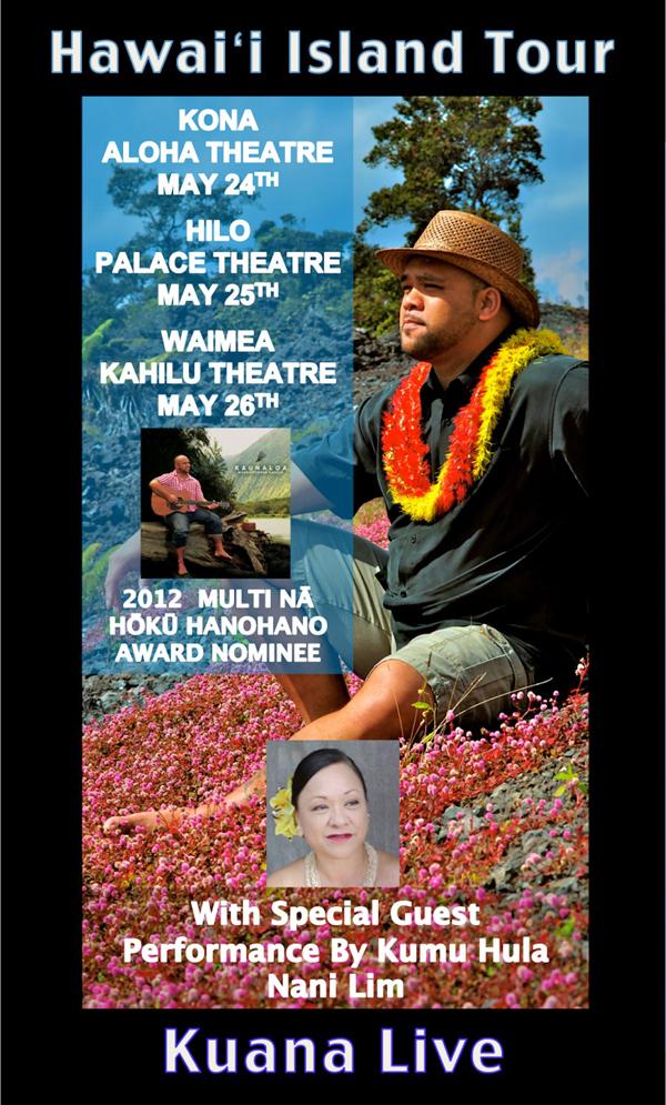Kuana Live: Hawaii Island Tour
