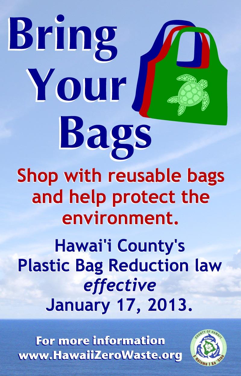 Hawaii County Plastic Bag Ban