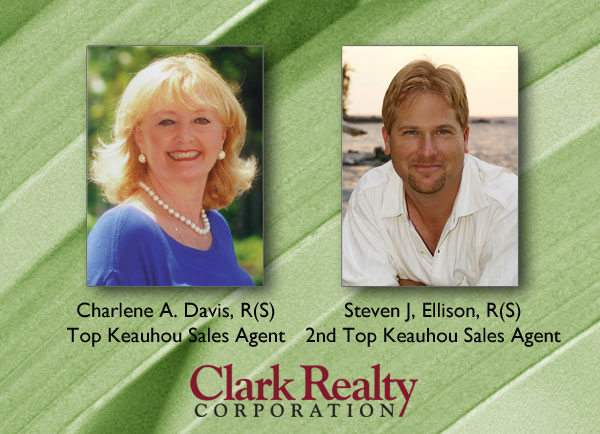 2012 Keauhou top sales agents